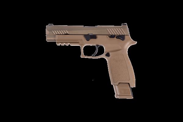 Cerakote Edition Burned Bronze Sig Sauer P320 M17 tan