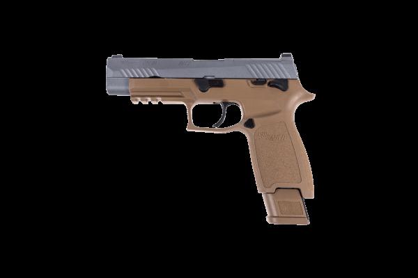Cerakote Edition Tungsten Sig Sauer P320 M17 tan