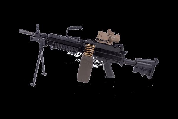 G&P M249 SF, 0,5 Joule, AEG, Black