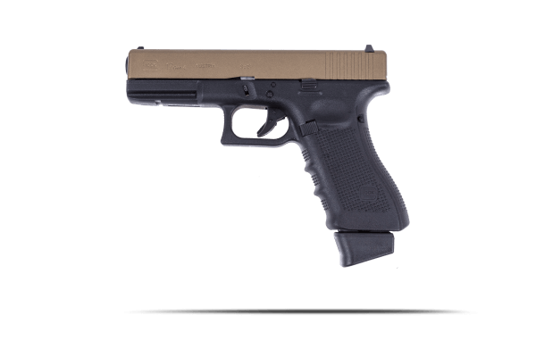 Cerakote Edition Burnt Bronze Glock 17 Gen. 4
