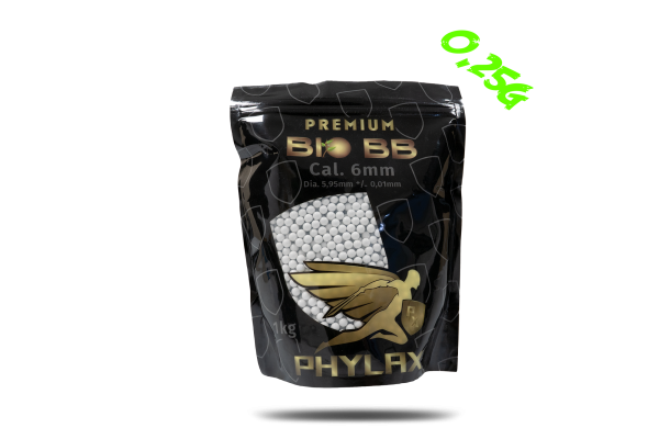 Phylax 0,25g Bio BBs (1kg), 4000Rds.