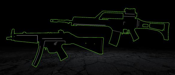 Sturmgewehre / Maschinenpistolen