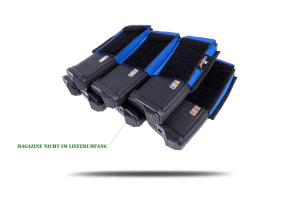 CubySoft® THUNDER MAG POUCH | AR 4+3 | BLUE