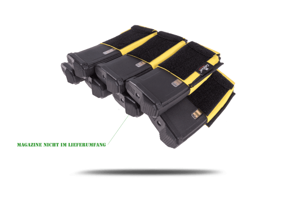 CubySoft® THUNDER MAG POUCH   AR 4+3   YELLOW