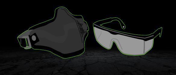 Brillen / Masken
